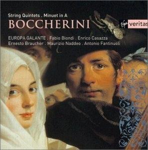 Boccherini: String Quintets album cover