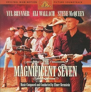 The Magnificent Seven: Original MGM Motion Picture Soundtrack album cover