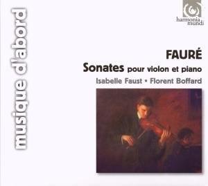 Fauré: Sonates Pour Violon & Piano album cover