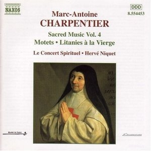 Charpentier: Sacred Music Vol.4 album cover