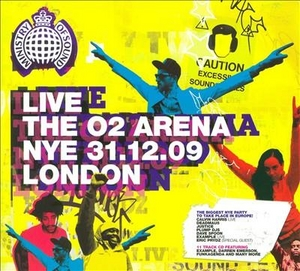 Live: The 02 Arena NYE 31.12.09 London (Ministry Of Sound) album cover