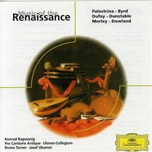 Music Of The Renaissance album cover