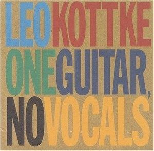 One Guitar, No Vocals album cover