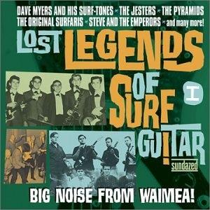 Lost Legends Of Surf Guitar, Vol. 1 album cover