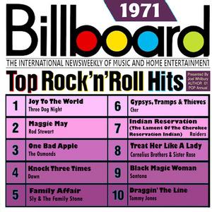 Billboard Top Rock 'N' Roll Hits: 1971 album cover