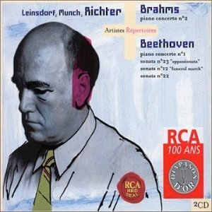 Brahms, Beethoven album cover