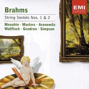 Brahms: String Sextets Nos.1&2 album cover