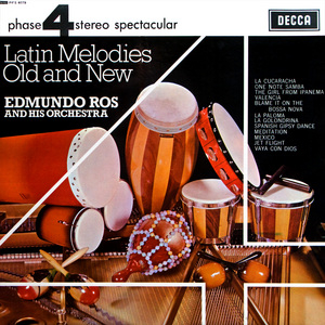 Latin Melodies Old And New album cover