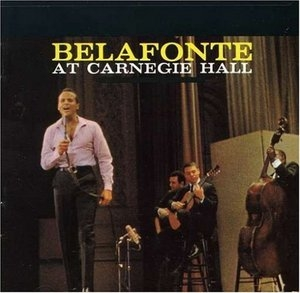 Belafonte At Carnegie Hall album cover