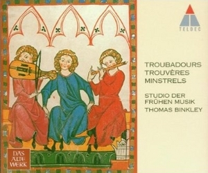 Troubadours, Trouveres, Minstrels album cover