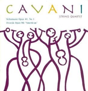 Schumann And Dvorak album cover