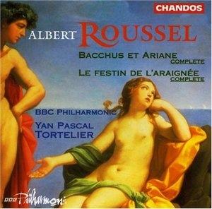 Roussel: Bacchus Et Ariane; Le Festin De L'Araignee album cover