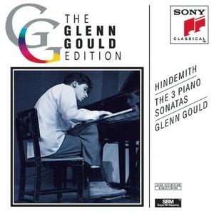 Hindemith: The 3 Piano Sonatas album cover