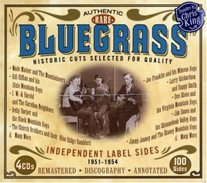 Bluegrass: Independent Label Sides 1951-1954 album cover