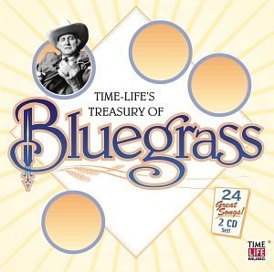 Time-Life's Treasury Of Bluegrass album cover