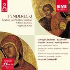 Penderecki: Symphony No.2 album cover