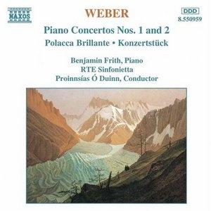 Weber: Piano Concertos Nos. 1 & 2 album cover