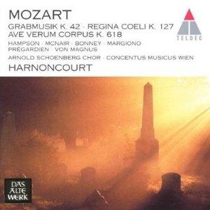 Mozart: Grabmusik K42, Regina Coeli K127 album cover