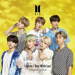 Lights / Boy With Luv album cover