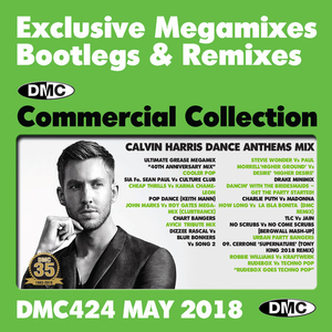 DMC Commercial Collection May 2018: Exclusive Megamixes Bootlegs & Remixes album cover