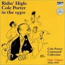 Ridin' High: Cole Porter ... album cover