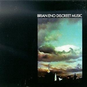 Discreet Music album cover