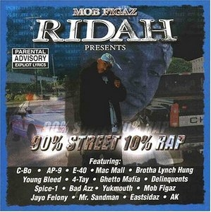 Ridah Presents: 90 Percent Street 10 Percent Rap album cover