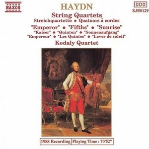Haydn-String Quartets (Emperor-Fifths-Sunrise) album cover