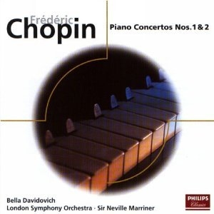 Chopin: Piano Concertos Nos.1&2 album cover