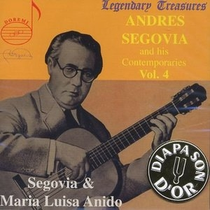 Andres Segovia And His Contemporaries Vol.4 album cover