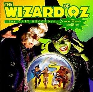 The Wizard Of Oz (1998 Cast Recording) album cover