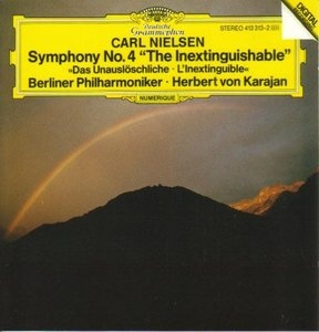 Nielsen: Symphony No. 4 'The Inextinguishable' album cover