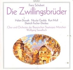 Schubert: Die Zwillingsbrüder album cover