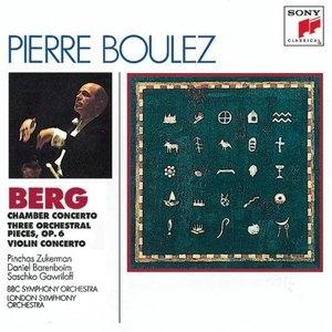 Berg: Chamber Concerto~ Violin Concerto album cover