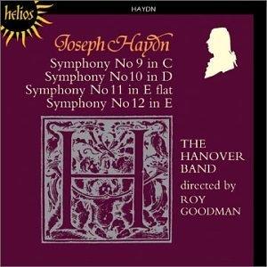Haydn-Symphonies 9-12 album cover