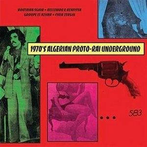 1970's Algerian Proto-Rai Underground album cover