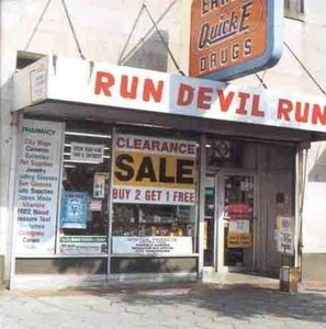 Run Devil Run album cover