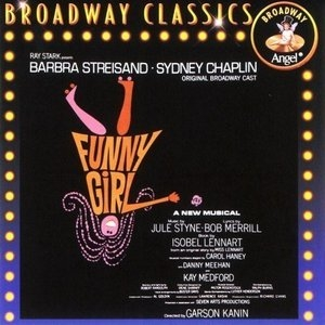 Funny Girl (1964 Original Broadway Cast) album cover