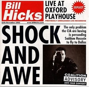 Shock & Awe: Live At Oxford Playhouse album cover