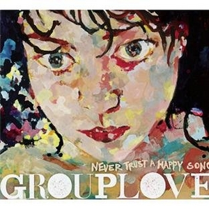 Never Trust A Happy Song album cover