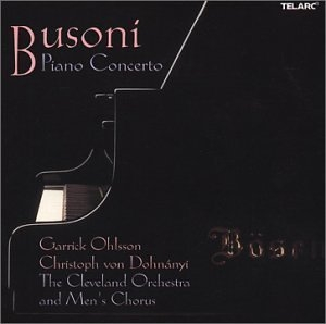 Busoni: Piano Concerto album cover