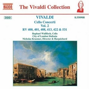 Vivaldi: Cello Concerti Vol.2 album cover