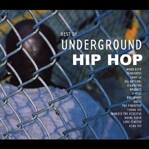 Best Of Underground Hip-Hop (K-Tel) album cover
