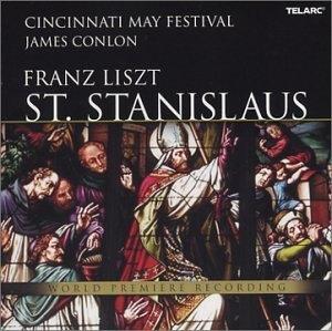 Liszt: St. Stanislaus album cover