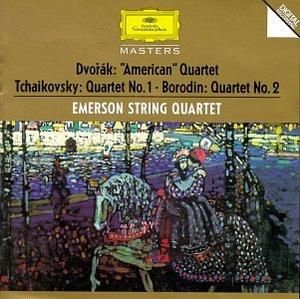 Dvorak, Tchaikovsky, Borodin: String Quartets album cover