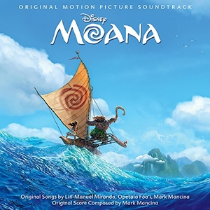Moana (Original Motion Picture Soundtrack) album cover