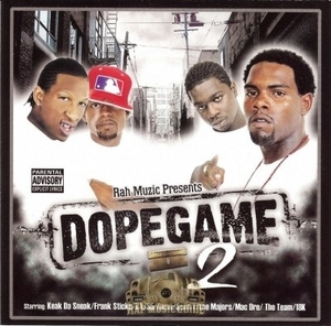 Dopegame 2 album cover