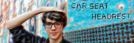 Car Seat Headrest image