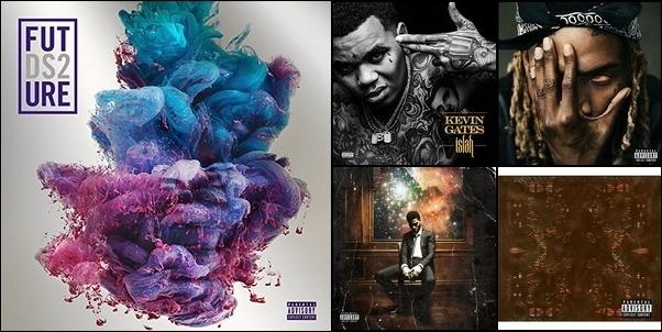 top rap hits 2016