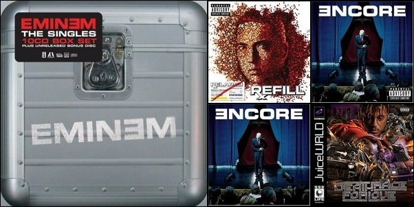 MGK, Eminem, Juice WRLD
